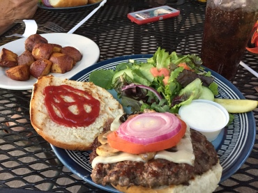 My GIANT burger